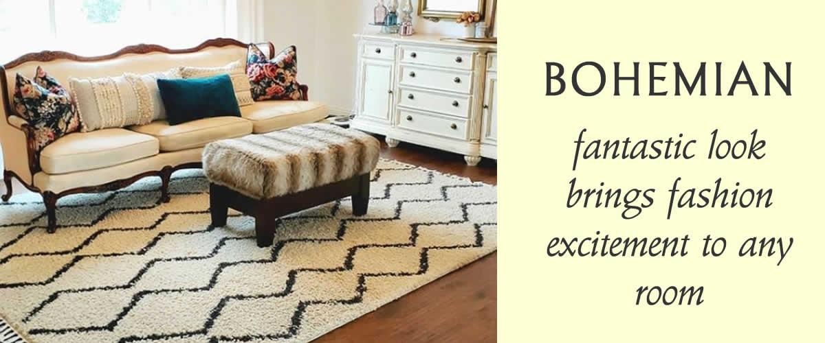 Bohemian-Area Rug-Collection-Rug-Outlet-USA