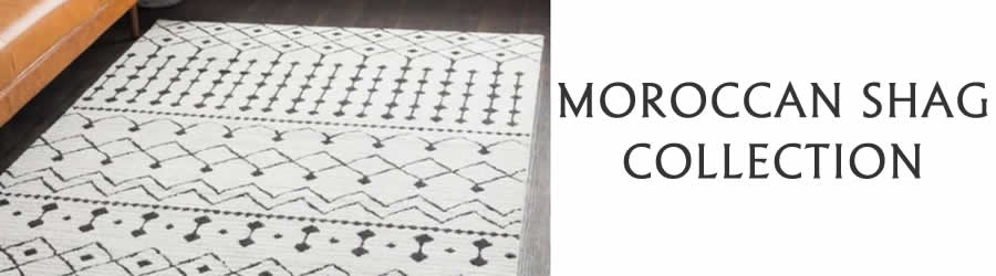 Moroccan Shag-Bohemian-Collection-Rug Outlet USA