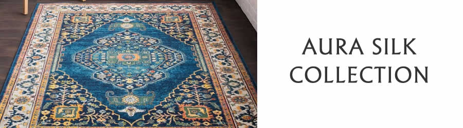 Aura Silk-Traditional-Collection-Rug Outlet USA