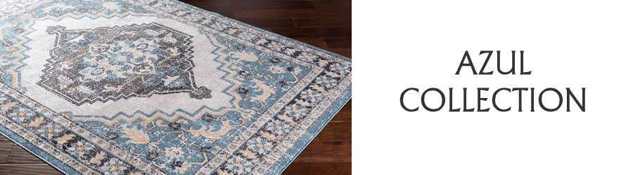 Azul-Traditional-Collection-Rug Outlet USA