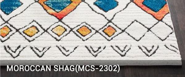 Moroccan shag-MCS-2302-Rug Outlet USA