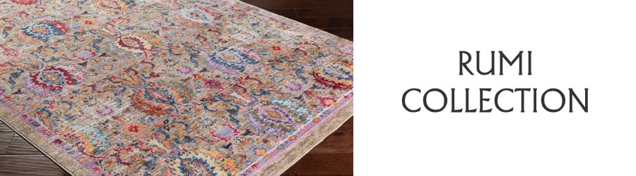Rumi-Updated Traditional-Collection-Rug Outlet USA